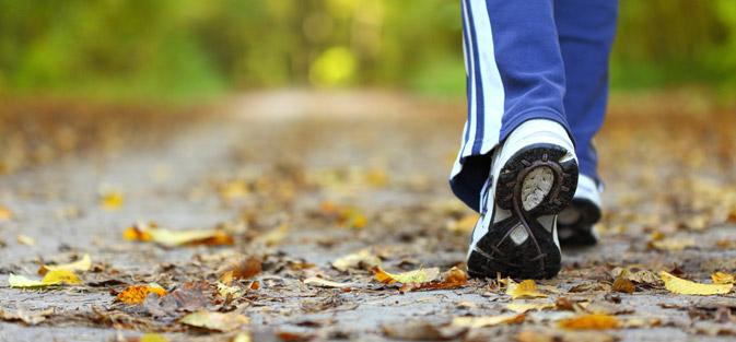 Consejos para perder peso caminando